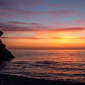 Parc National Forillon/ lever du soleil