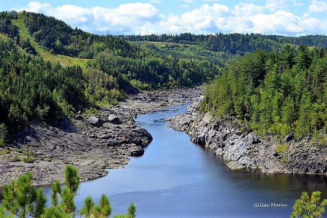 Paysage du Saguenay. Saguenay, QC
