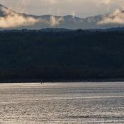 Vue matinale du Saguenay
