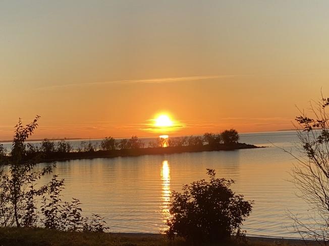 Romantic Sunset Slave Lake, AB