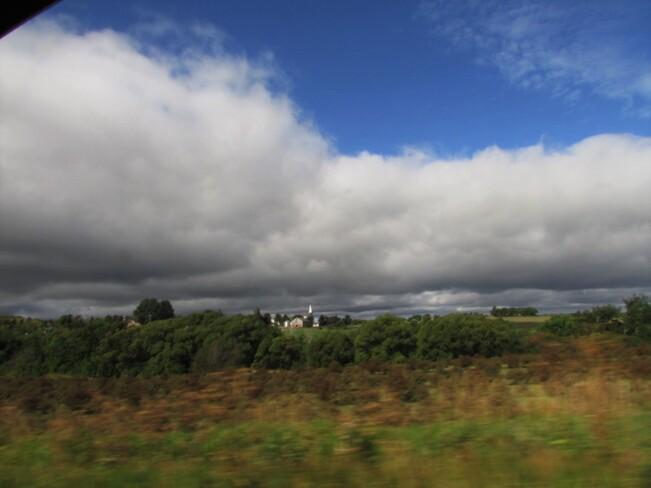 Matin sous les nuages Chambord, QC