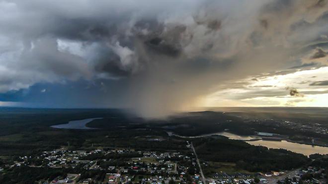 L'orage s'en vient.... Saint-Georges, QC G9T 5X5