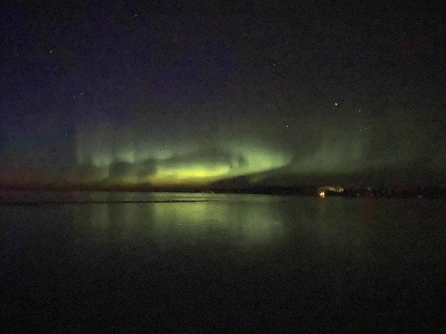 Northern lights Candle Lake, Saskatchewan, CA