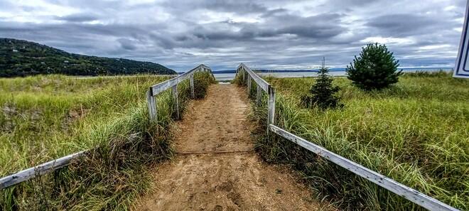 Vers la mer! Baie-Saint-Paul, QC