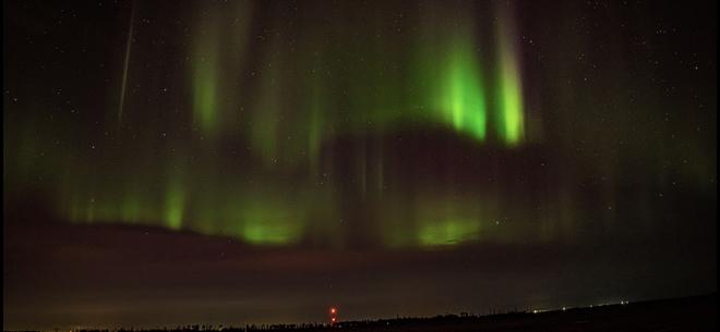 Northern Lights Fort McMurray, Alberta, CA