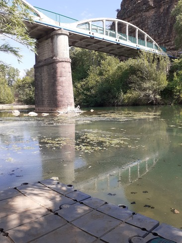 l'argens river Le Muy, PAC