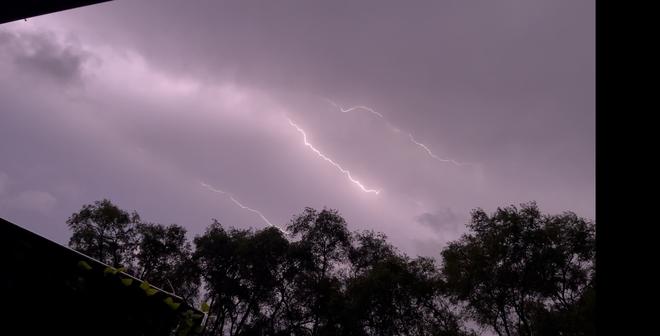 Lightening Over London London, Ontario, CA