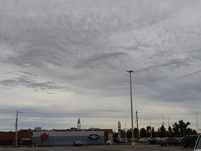 Waves in the cloud Belleville, ON