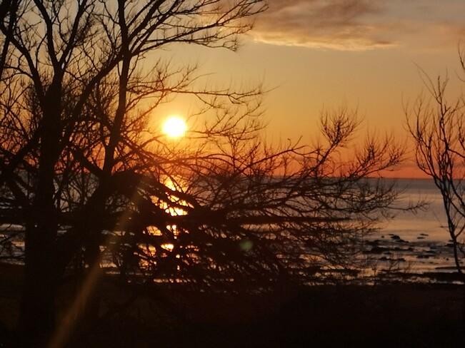 coucher de soleil Cap-Chat, QC