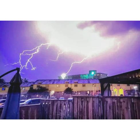 September 24th Thunder Storm Oshawa, ON