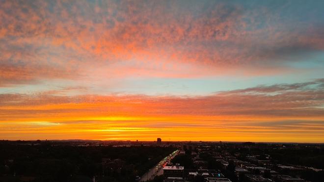 coucher de soleil Montréal, QC
