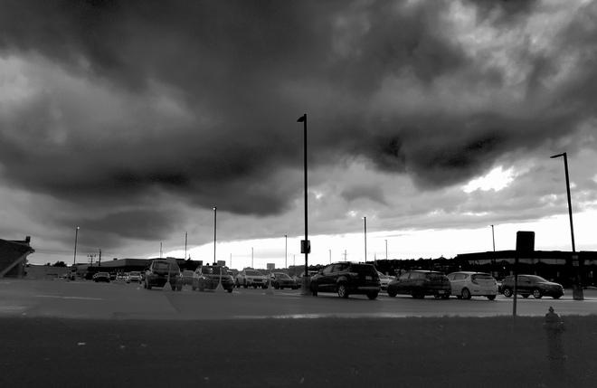 Nuages noir Sherbrooke, QC