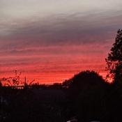 coucher de soleil Beauport