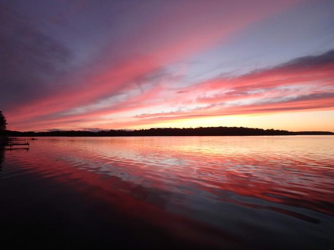 Pretty Sunset Roseneath, ON