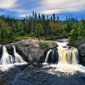 Cox's Cove Falls , Newfoundland And Labrador
