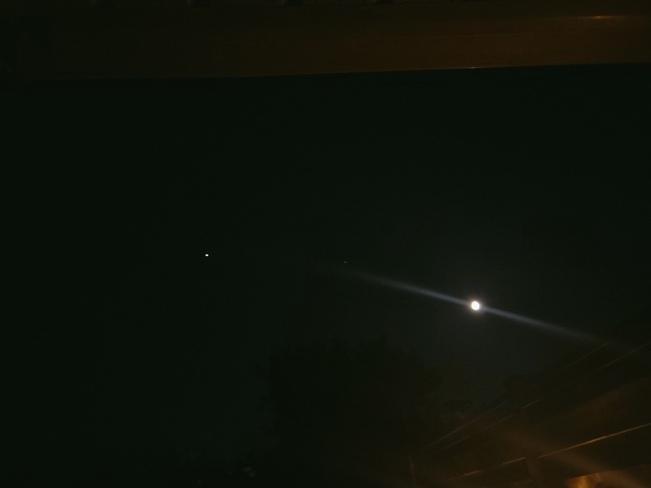 Jupiter, Saturn & Moon Tillsonburg, ON