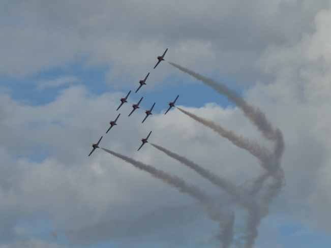Canadian Forces Snowbirds Stratford, ON