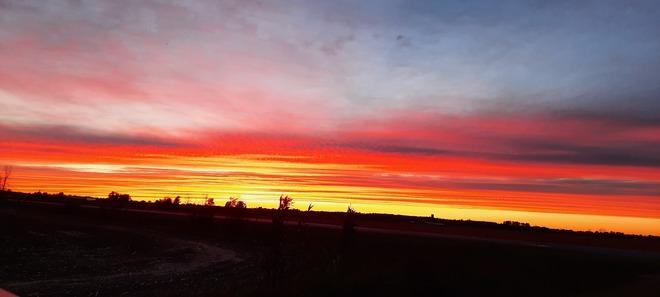 Hump Day Sunset Mountain, Ontario