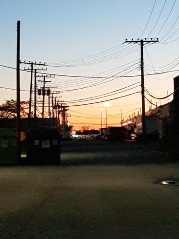 Sunrise on Thursday morning Montréal, QC