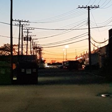 Sunrise on Thursday morning