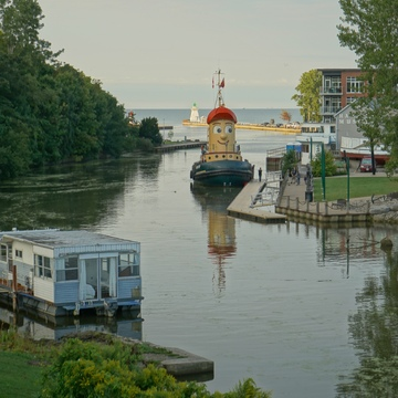 Theodore Tug Port Dover Ontario
