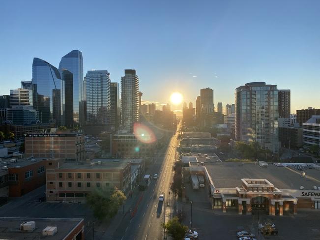 Sunrise Calgary, Alberta, CA