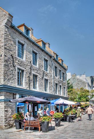 In the Old Quebec city Old Quebec, La Cité-Limoilou, Quebec City, QC