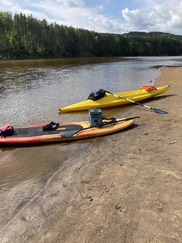 Paisible en kayak La Conception, Québec, CA