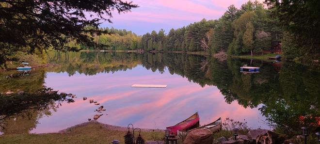 Beautiful Sunset Cloyne, ON