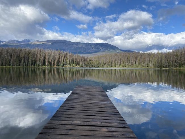 Quiet and Calm Morning Jasper, Alberta, CA