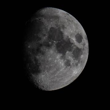 tonight's moon