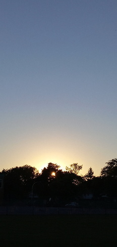 September 16th's sunset Pointe-Claire, QC