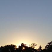 September 16th's sunset