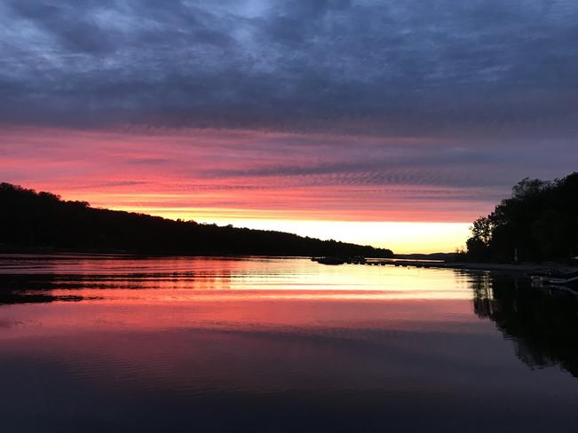 Sunset Constance Bay, Ontario, CA