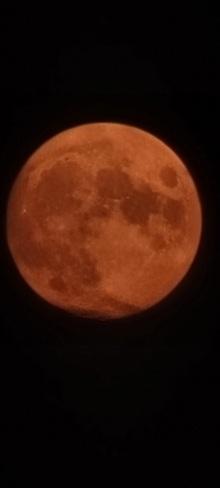 lune rouge Drummondville, QC