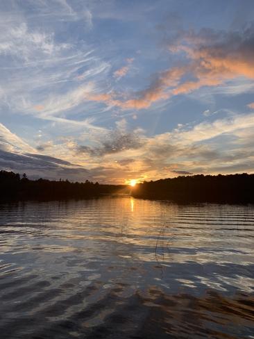 Sunset Temagami, Ontario, CA