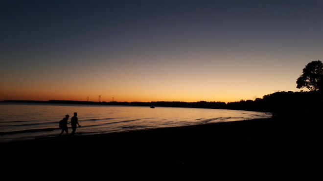 Evening twilight time Port Dover, ON