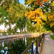 Lachine Canal in the fall