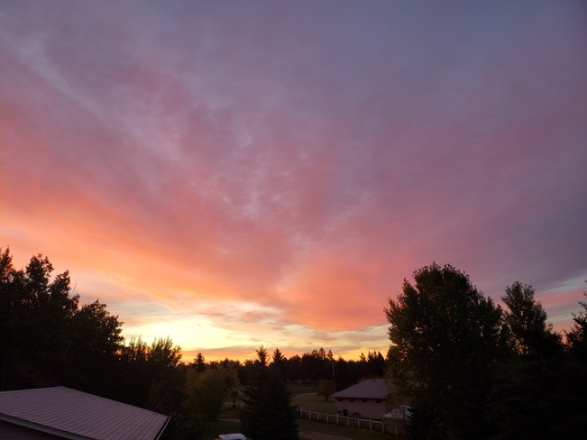 God's morning masterpiece Parkland County, AB