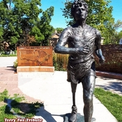 Sept 17 2021 26C Happy Friday:) Terry Fox Tribute in Ransom Park - Richmond Hill