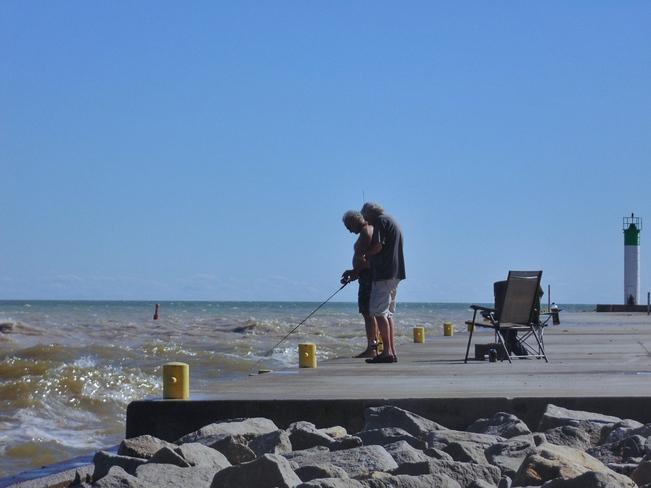ENJOYABLE AFTERNOON Port Bruce, ON