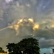 Rainbow yesterday afternoon!!