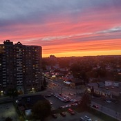 Vanier Sunset