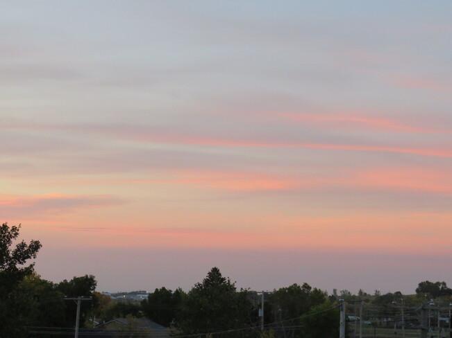 Clouds to the South of Weyburn at Dawn Weyburn, Saskatchewan