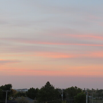 Clouds to the South of Weyburn at Dawn