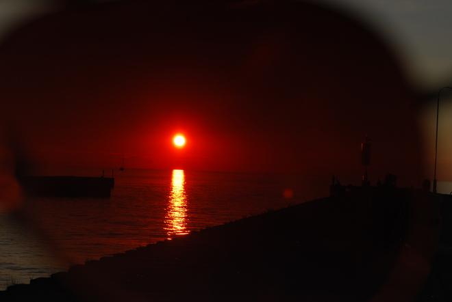 Almost sundown! Kincardine, ON
