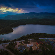 Calm Before the Storm , Tippings Pond, Massey Drive , Newfoundland And Labrador