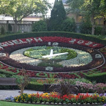 Floral Clock Garden