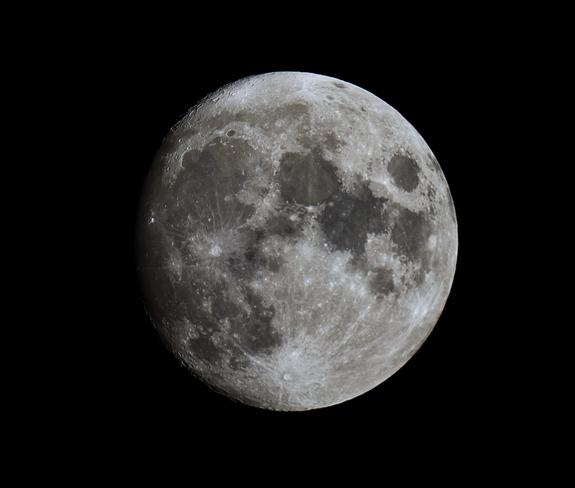 Moon tonight Orléans, Gloucester, Ottawa, ON