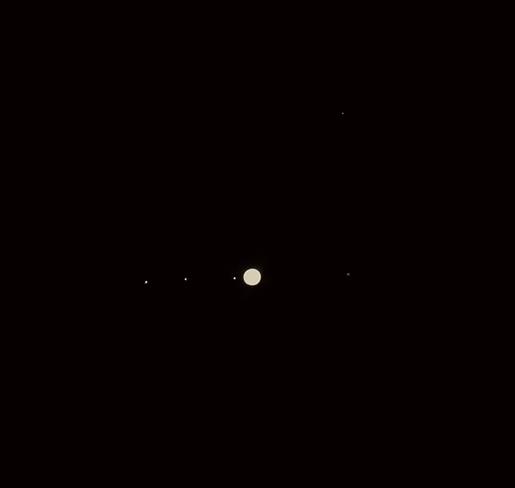 Jupiter with 4 moons K1c6v9